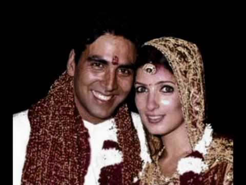 Akshy kumar and Malaika Arora in 1998 in a Church