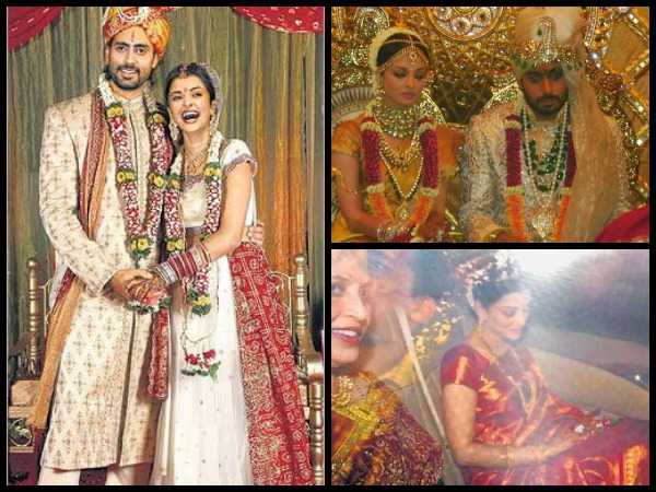 Abhishek and Aishwarya Rai married in 2007