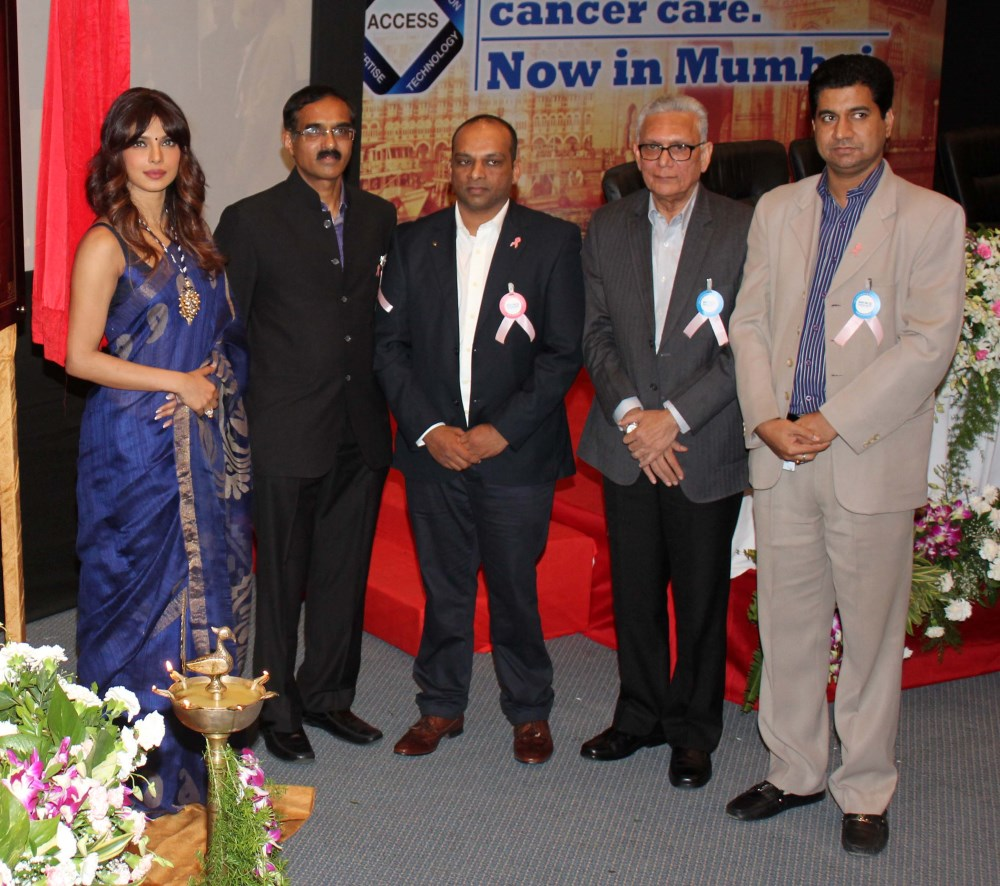 Priyanka Chopra Launches New Cancer Ward at Nanavati Hospital