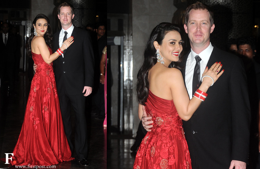 Preity Zinta married Gene Good enough