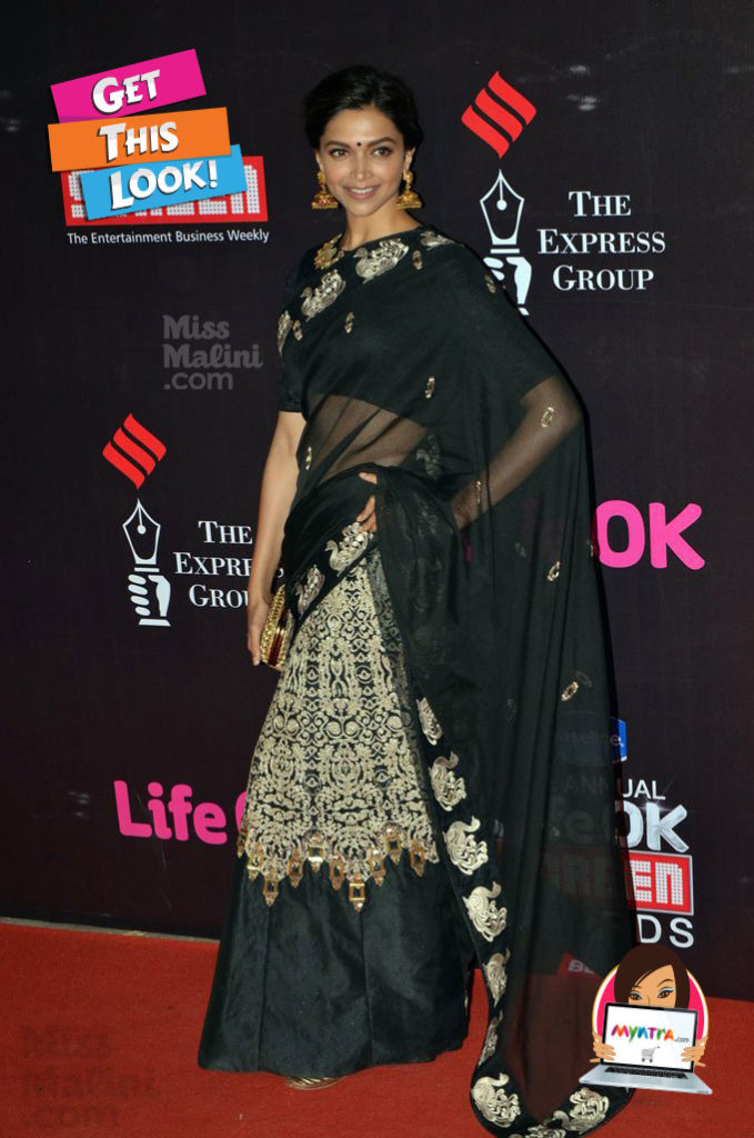 Deepika padukone in life ok screen awards 2015