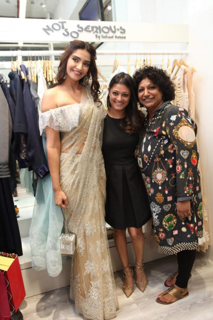 Actress Sonam Kapoor at the launch of Style loft by Ambika Pillai