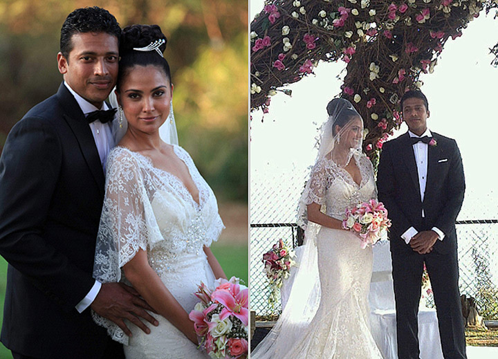 Lara Dutta married to Mahes Bhupati in 2011 in a Civil court