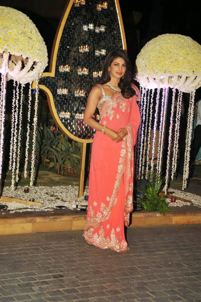 Priyanka Chopra at Ridhi Malhotra Wedding Reception