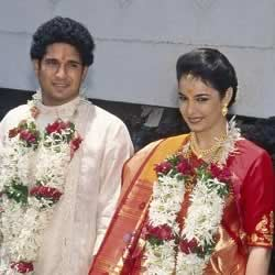 Sachin married his wife Anjali Mehta