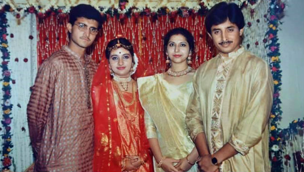 Sourav Ganguly and Dona Roy wedding