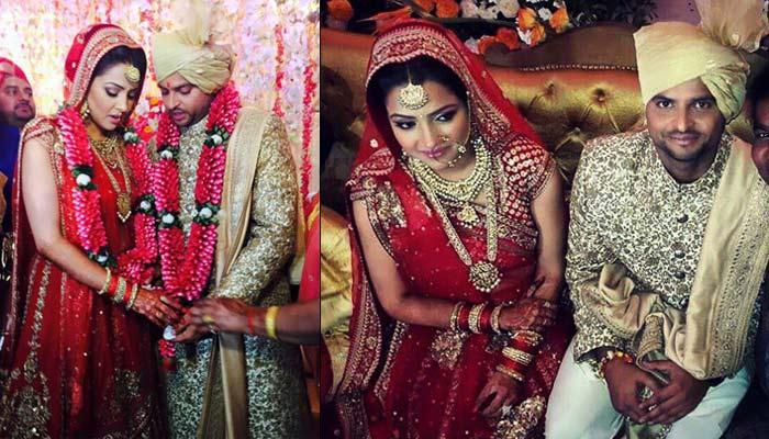 Suresh Raina and Priyanka Chaudhary wedding