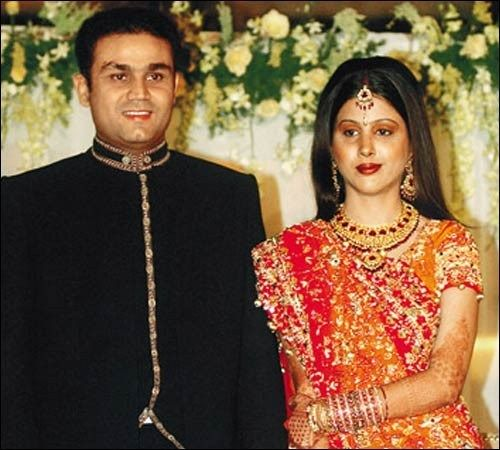 Virendra shewag and Aarti Ahlawat wedding in 2004
