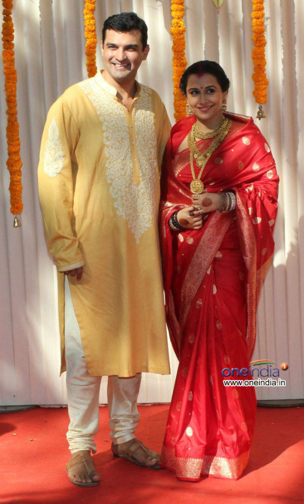 Siddharth Roy Kapur the Indian Business Men and CEO of Disney India married Vidya Balan in 2012