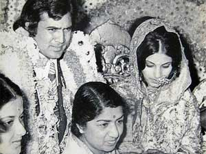 Rajesh khanna Married to Dimple Kapadia in 1973
