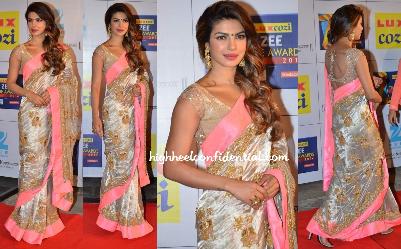 Priyanka Chopra at Zee Cine Awards 2014