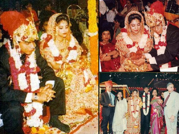 Shahrukh Khan and Gauri Khan wedding