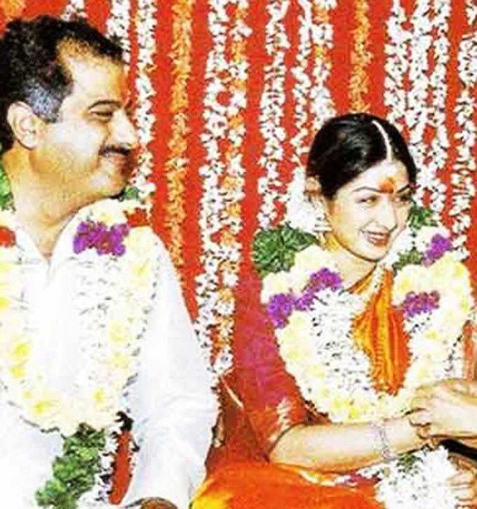 Boney Kapoor & Sridevi Wedding