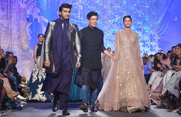 Arjun Kapoor and Jacqueline Fernandez in Manish Malhotra Ramp Show