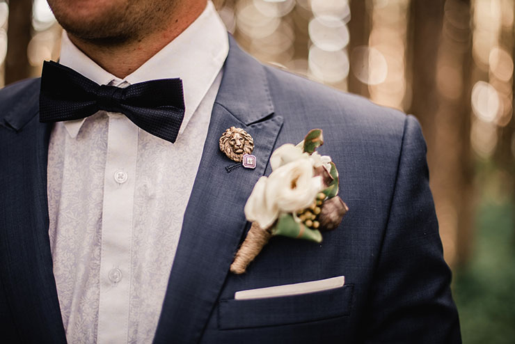 Indian Groom boutonniere