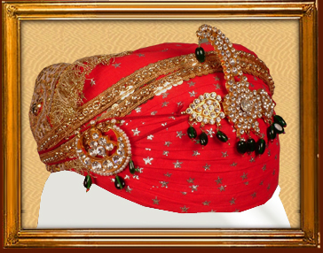 Mewari turbans for Groom